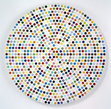 Damien Hirst: The Complete Spot Paintings 1986–2011, 555 West 24th Street, New York