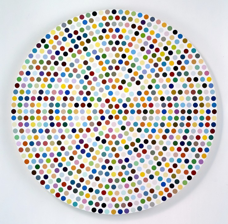 Damien Hirst The Complete Spot Paintings 1986 2011 555 West 24th Street New York January 12 February 18 2012 Gagosian