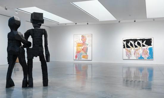 Installation view Artwork © Georg Baselitz. Photo: Rob McKeever