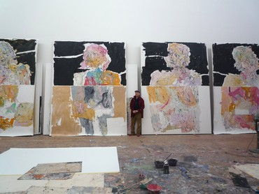 Georg Baselitz, West 21st Street, New York