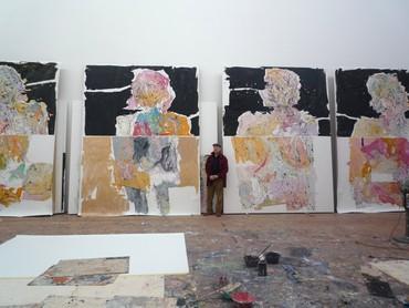Georg Baselitz, West 21st Street, New York