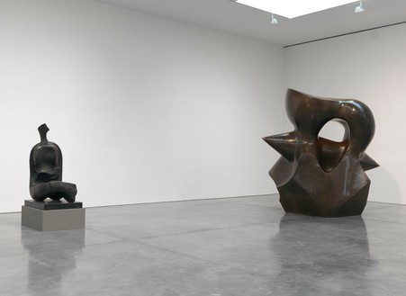 Installation view Photo by Rob McKeever Reproduced by permission of The Henry Moore Foundation