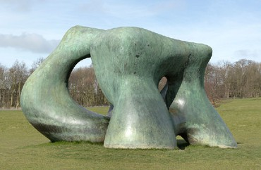 Henry Moore: Late Large Forms, Britannia Street, London