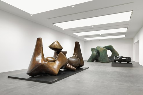 Installation view Reproduced by permission of the Henry Moore Foundation. Photo: Mike Bruce