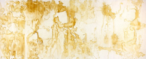 Andy Warhol, Piss Painting, 1978 Urine on gesso on canvas, 78 × 194 inches (198.1 × 492.8 cm)© The Andy Warhol Foundation for the Visual Arts, Inc./Artists Rights Society (ARS), New York