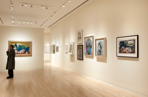 Installation view Artwork © 2020 Estate of Pablo Picasso/Artists Rights Society (ARS), New York. Photo: Rob McKeever