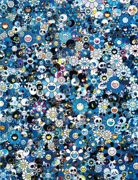 Takashi Murakami: Flowers & Skulls, Hong Kong
