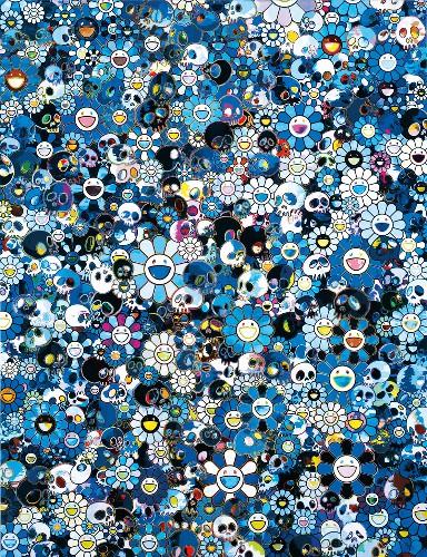 Takashi Murakami: Flowers & Skulls, Hong Kong, November 29, 2012–February 9, 2013 | Gagosian