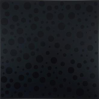 Yayoi Kusama, INFINITE-NOTHINGNESS, 2008 Urethane on canvas, 76 ⅜ × 76 ⅜ inches (194 × 194 cm)