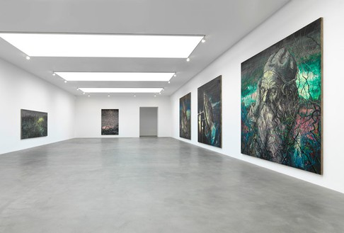 Installation view  Artwork © Zeng Fanzhi Studio. Photo: Mike Bruce
