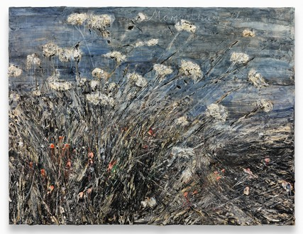 Anselm Kiefer, Morgenthau Plan, 2012 Acrylic, emulsion, oil, and shellac on photograph mounted on canvas, 113 × 149 ⅝ inches (287 × 380 cm)© Anselm Kiefer