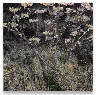 Anselm Kiefer, Morgenthau Plan, 2012 Acrylic, emulsion, oil, and shellac on photograph mounted on canvas, 149 ⅝ × 149 ⅝ inches (380 × 380 cm)© Anselm Kiefer