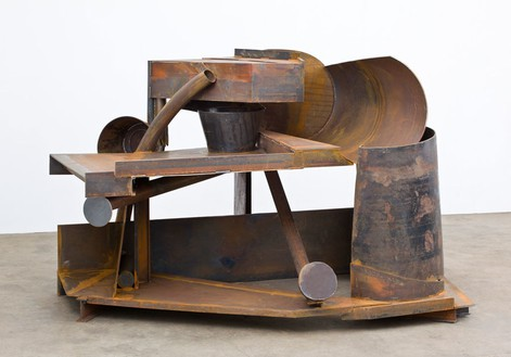 Anthony Caro, Tempest, 2012 Steel, rusted, 63 × 103 ⅛ × 89 inches (160 × 262 × 226 cm)© Barford Sculptures Ltd, photo by John Hammond