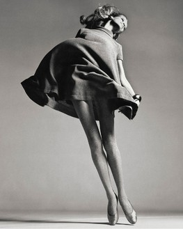 Richard Avedon, Veruschka, Dress by Bill Blass, New York, January 1967, 1981 Gelatin silver print, 24 × 20 inches (61 × 50.8 cm), edition of 50© The Richard Avedon Foundation