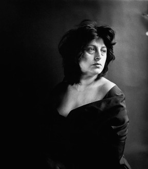 Richard Avedon, Anna Magnani, actress, New York, April 17, 1953, 1953 Gelatin silver print, 20 × 16 inches (50.8 × 40.6 cm), edition of 5© The Richard Avedon Foundation