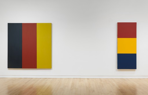Installation view  Artwork © Brice Marden/Artists Rights Society (ARS), New York. Photo: Rob McKeever
