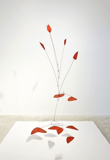 Alexander Calder, Pods and Shoots, 1966 Sheet metal, wire, and paint, 82 × 74 × 42 inches (208.3 × 188 × 106.7 cm)© 2013 Calder Foundation, New York/Artists Right Society (ARS), New York, photo by Thomas Lannes