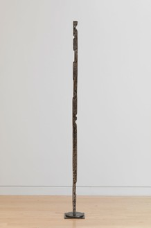 David Smith, Forging IX, 1955 Varnished steel, 72 ½ × 7 ⅝ × 7 ⅝ inches (184.2 × 19.4 × 19.4 cm)© The Estate of David Smith/Licensed by VAGA, New York, photo by Rob McKeever