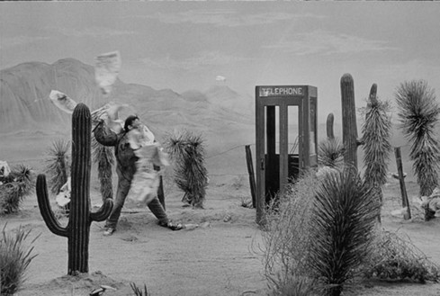 Dennis Hopper, Neil Young in Desert Shot, 1961–67