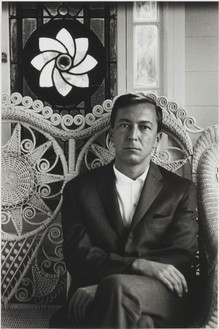 Dennis Hopper, Jasper Johns, 1965 Gelatin silver print, 24 × 16 inches (61 × 40.6 cm), edition of 15
