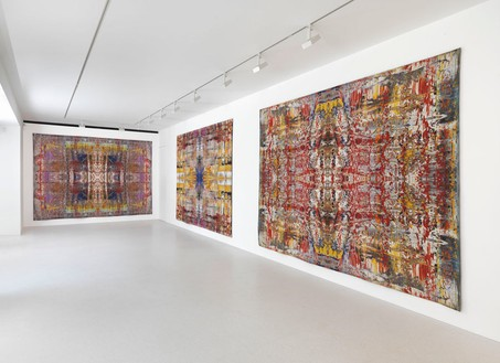 Installation view Artworks © Gerhard Richter 2013, photo by Mike Bruce