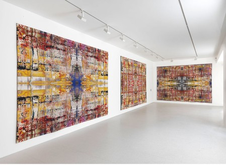 Installation view Artworks © Gerhard Richter 2013 Photo by Mike Bruce
