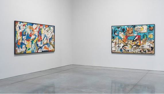 Installation view Artwork © 2013 Estate of Helen Frankenthaler/Artists Rights Society (ARS), New York. Photo: Rob McKeever