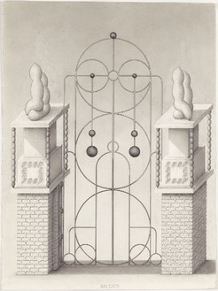 Paul Noble, Mr Gate, 2008–11 Pencil on paper, 29 15/16 × 22 1/16 inches unframed (76 × 56 cm)