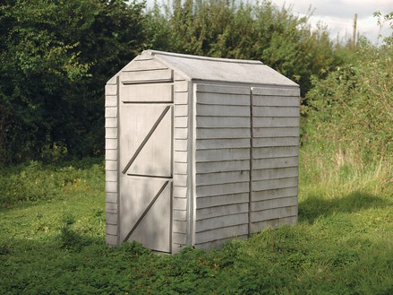 Rachel Whiteread, Detached 1, 2012 Concrete and steel, 78 ¾ × 43 × 67 ¾ inches (200 × 109 × 172 cm)© Rachel Whiteread. Photo: Mike Bruce