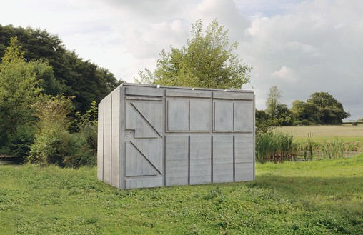 Rachel Whiteread, Detached 3, 2012 Concrete and steel, 77 ¼ × 67 ¾ × 115 ¾ inches (196 × 172 × 294 cm)© Rachel Whiteread. Photo: Mike Bruce