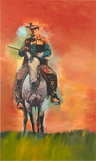 Richard Prince, Untitled (Cowboy), 2012 Inkjet and acrylic on canvas, 80 ¼ × 48 inches (203.8 × 121.9 cm)