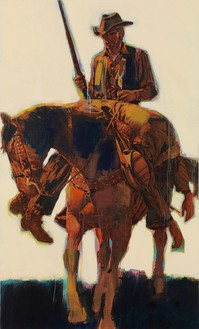 Richard Prince, Untitled (Cowboy), 2012 Inkjet and acrylic on canvas, 70 × 42 inches (177.8 × 106.7 cm)