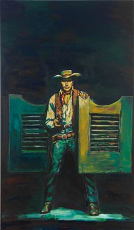Richard Prince, Untitled (Cowboy), 2012 Inkjet and acrylic on canvas, 68 ½ × 40 ⅛ inches (174 × 101.9 cm)