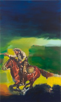 Richard Prince, Untitled (Cowboy), 2012 Inkjet and acrylic on canvas, 80 9/16 × 48 inches (204.6 × 121.9 cm)