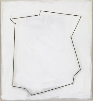 Richard Prince, Untitled, 2012 Rubber band, inkjet, staples, and acrylic mounted on newsprint, 24 × 22 inches (61 × 55.9 cm)© Richard Print. Photo: Rob McKeever