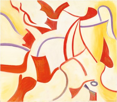 Willem de Kooning, The Privileged (Untitled XX), 1985 Oil on canvas, 70 × 80 inches (177.8 × 203.2 cm)© The Willem de Kooning Foundation/Artists Rights Society (ARS), New York. Photo: Tim Nighswander/IMAGING4ART