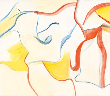 Willem de Kooning, <no title>, 1984 Oil on canvas, 77 × 88 inches (195.6 × 223.5 cm)© The Willem de Kooning Foundation/Artists Rights Society (ARS), New York. Photo: Tim Nighswander/IMAGING4ART
