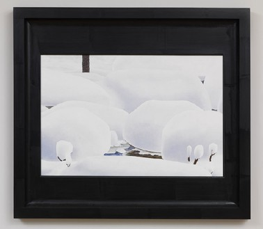Neil Jenney, North America Depicted, 2009–10 Oil on wood in artist's frame, 40 ¼ × 45 ¼ × 2 ⅛ inches (102.2 × 114.9 × 5.4 cm)