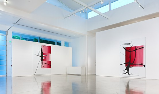 Installation view Artwork © Albert Oehlen. Photo: Douglas M. Parker Studio