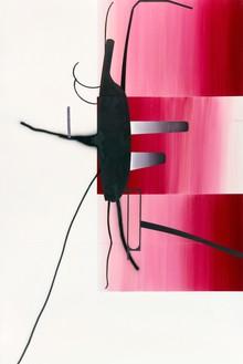 Albert Oehlen, Untitled, 2014 Oil on Dibond, 147 ⅝ × 98 ½ inches (375 × 250 cm)© Albert Oehlen. Photo: Lothar Schnepf