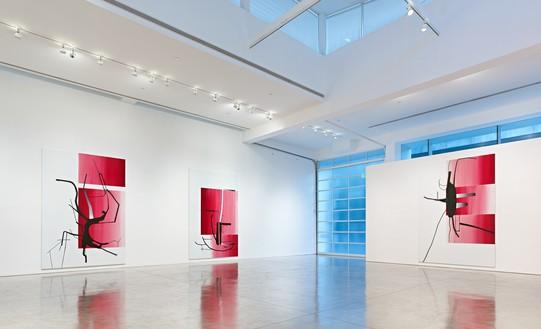 Installation view Artwork © Albert Oehlen. Photo: Douglas M. Parker Studio
