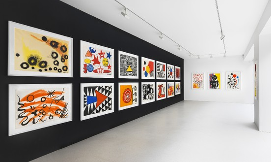 Installation view © 2014 Calder Foundation, New York/Artists Rights Society (ARS), New York, photo by Mike Bruce