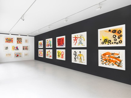 Installation view © 2014 Calder Foundation, New York/Artists Rights Society (ARS), New York Photo by Mike Bruce