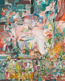 Cecily Brown, No You for Me, 2013 Oil on linen, 83 × 67 inches (210.8 × 170.2 cm)Photo by Rob McKeever