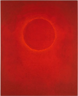 Dan Colen, Rite of Spring, 2013 Oil and pigment powder on canvas, 105 × 85 inches (266.7 × 215.9 cm)