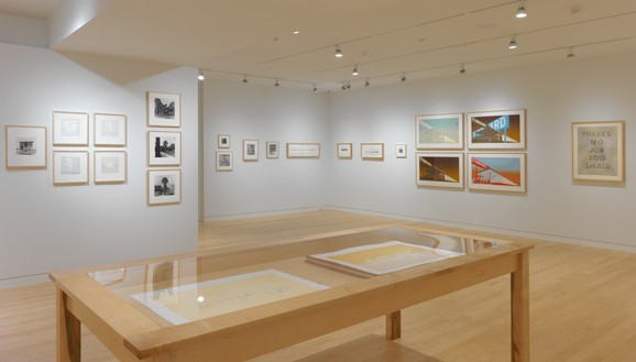 Installation view Artwork © Ed Ruscha. Photo: Rob McKeever
