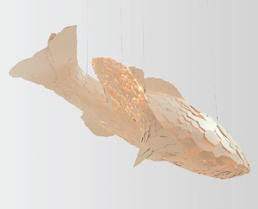 Frank Gehry: Fish Lamps, Athens