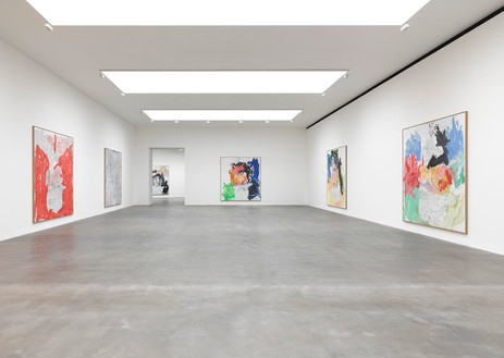 Installation view Artwork © Georg Baselitz. Photo: Mike Bruce
