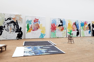 Georg Baselitz: Farewell Bill, Britannia Street, London
