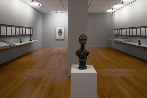 Installation view Artwork © 2014 Alberto Giacometti Estate/Licensed by VAGA and ARS, New York